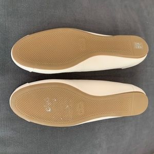 Coach Shoes - Coach Chelsea Cream Ballet Flats